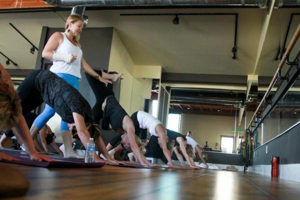 art-of-fitness-Katie Yoga class 7-17-13