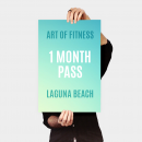 art of fitness laguna beach one month pass