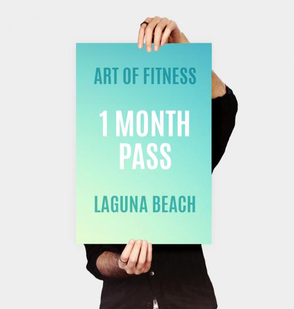 art of fitness laguna beach one month pass